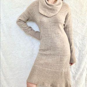 Antropologie sweater dress